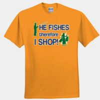 He Fishes & I Shop