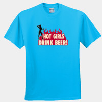 Hot Girls Drink Beer!